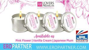 LoversPremium Massage Candles ships at Eropartner