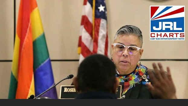 Openly Gay Texas Judge forced to Remove PRIDE Flag-jrlcharts-lgbt-politics
