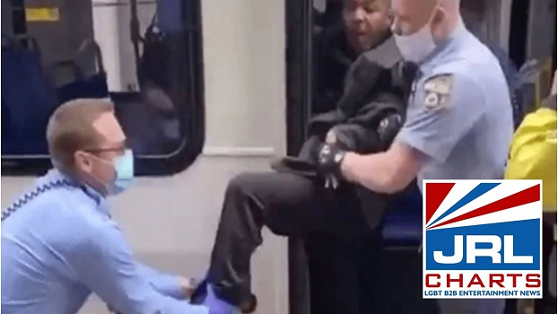 Police Drag Man off bus for not wearing face mask Goes Viral