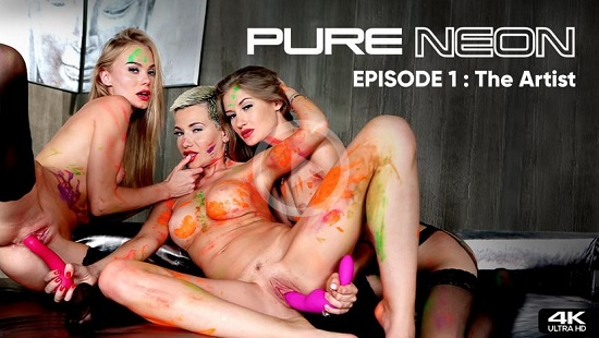 Pure Neon Episode 1-The Artist-NSFW Trailer