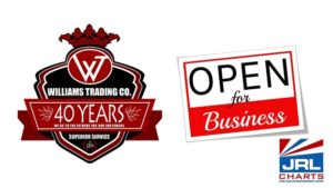 Williams Trading Co. Announce Soft Opening Plan for Next Week
