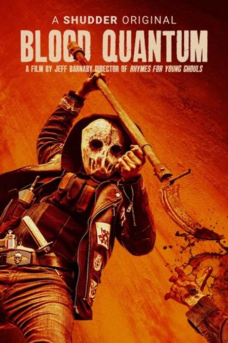 Blood Quantum DVD Poster-Shudder