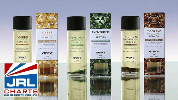 Exsens Expands Body Care Lineup with Crystal Body Oils