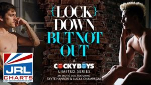 (LOCK) DOWN BUT NOT OUT... Gay Erotic Life in Lockdown-cockyboys