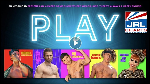 NakedSword New Adult Game Show 'PLAY' features Top Stars!