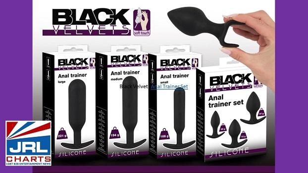 Orion Wholesale New Black Velvet Anal Pleasure Toys