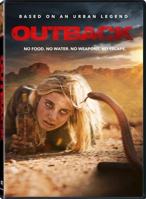 Outback DVD (2020) Lionsgate Home Entertainment