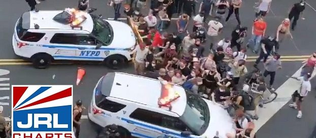 WATCH-NYPD SUV Drive Into George Floyd Protesters-news-jrl-charts-LGBT-politics
