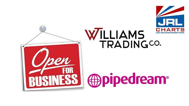 Williams Trading Co-pipedream-products-continues Soft Reopening Plan-sex-toys-news-jrlcharts-05-20-2020