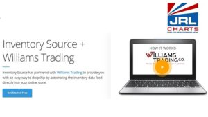 Williams Trading Drop Shipment Services Activates all Data Feeds with Inventory