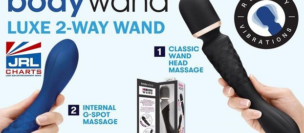 Xgen Products streets New Bodywand Luxe 2-Way Wand