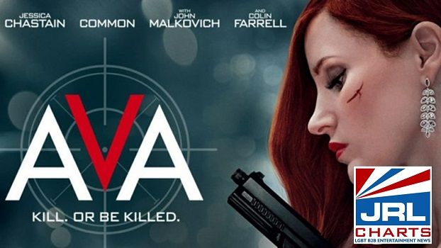 AVA (2020) official trailer starring Jessica Chastain debuts