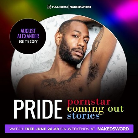 August Alexander - Documentary - PRIDE-Pornstar-Coming-Out-Stories