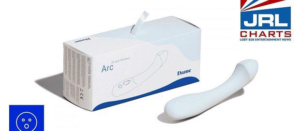 Entrenue ships Dame Products-Arc-G-spot-vibrator