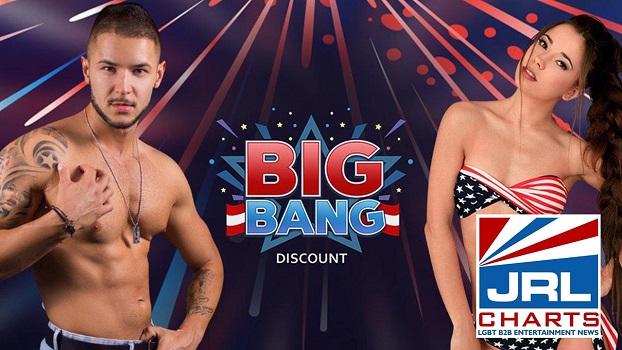 Flirt4Free Independence Day Big Bang Promo Contest
