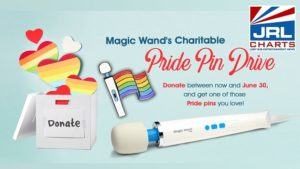 Magic Wand - Pride Month Charitable Pride Pin Drive