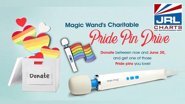 Magic Wand - Pride Month Charitable Pride Pin Drive