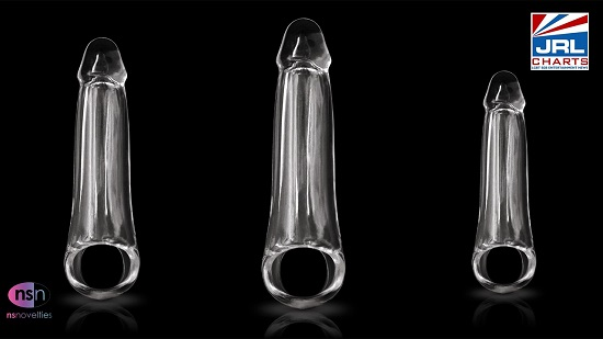 Renegade clear penis fantasy extension-ns-novelties