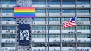 Trump Orders Removal of BLM & PRIDE Month Banners from Embassy
