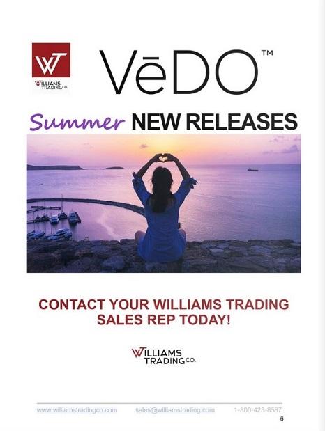 VEDO Summer New Releases Digital Catalog-Williams Trading