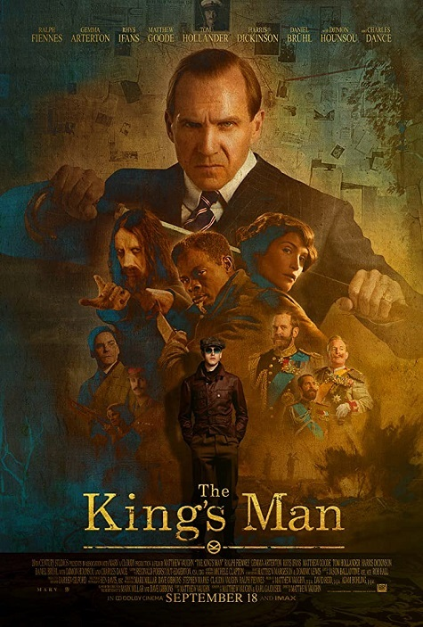 the-king's-man-official poster-2020