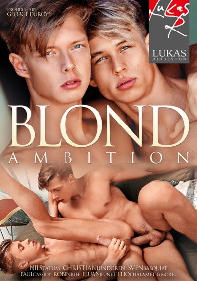Blond Ambition (2020) DVD - Front-cover-Lukas Ridgeston