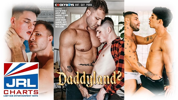 Daddyland 2 DVD - CockyBoys-2020-08-07-jrl-charts-headline-news
