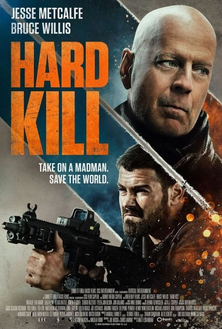 Hard Kill (2020) Official Poster-Vertical