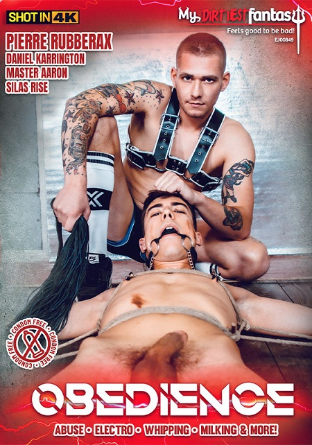 Obedience DVD -front-cover- My Dirtiest Fantasy