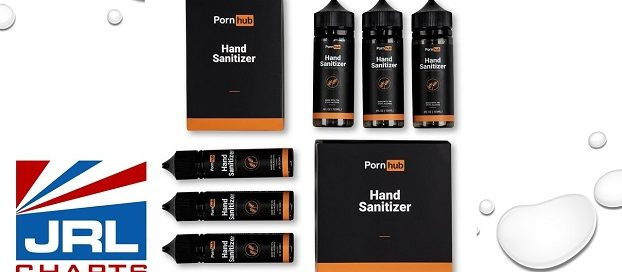 Pornhub Hand Sanitizer - Squirt Safely During COVID-19-2020-07-13-jrl-charts