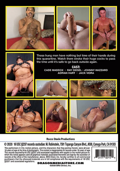 Quarantined Cock Jerkers DVD (2020) Back-Cover-Dragon-Media
