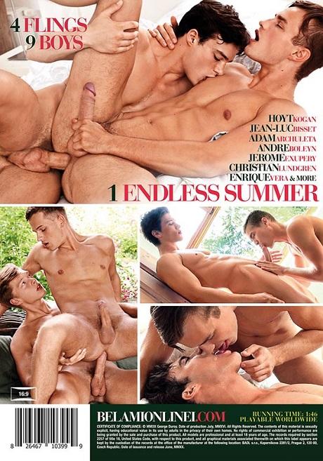 Summer Loves DVD -Backcover- BelAmi (2020)