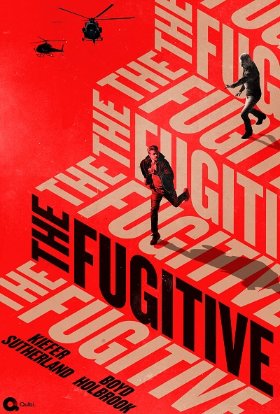 The Fugitive (2020) Official Poster - Quibi TV