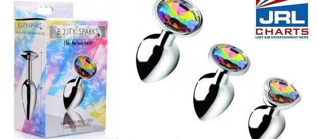 XR Brands unveil Booty Sparks Rainbow Prism Gems