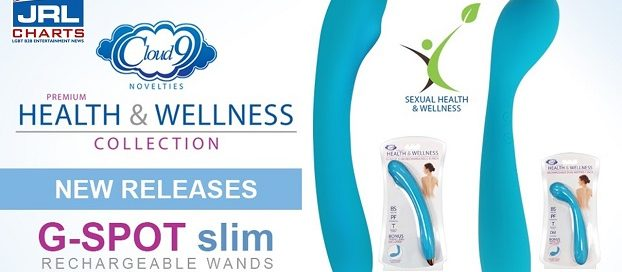 Cloud 9 Novelties unveil 'Health & Wellness' G-Spot Slim Rechargeable 8-Inch Single Motor Vibrator Wands