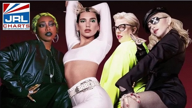 Dua Lipa-Levitating Video-Madonna-Missy Elliot-jrl-charts