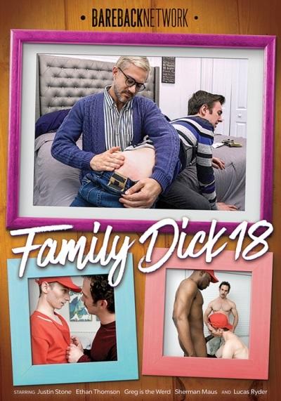 Family Dick Vol 18 DVD - front-cover-Bareback-Network