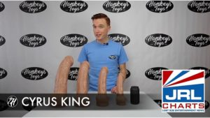 Justin of Hankey's Toys Demo Str8 CYRUS King Star's Signature Cyrus King