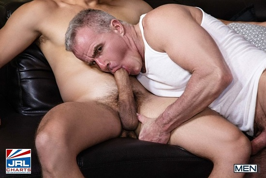 Nate Grimes and Dale Savage-Lazy afternoon bareback-gay-porn-scene