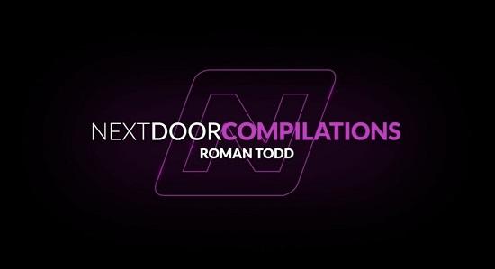 Next Door Studios Debuts 'Roman Todd Compilation'-gay-porn-movie-trailer