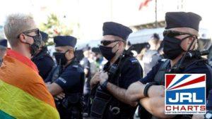 Poland Gay rights activists
