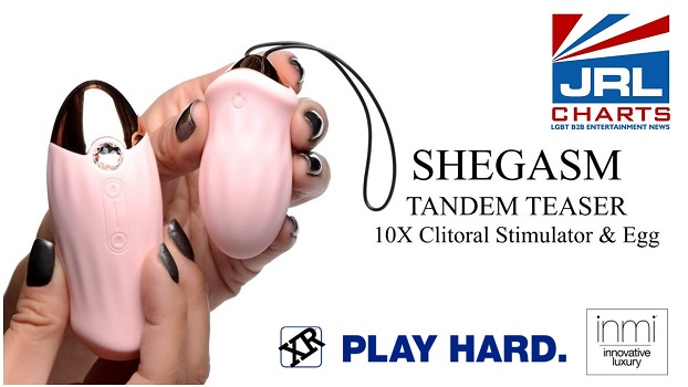 XR Brands New Shegasm Air Pulsation & Suction Devices Video
