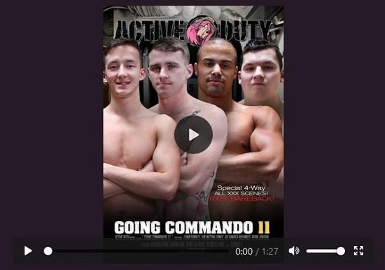 Active Duty 'Going Commando 11 DVD-gay-porn-nsfw-trailer