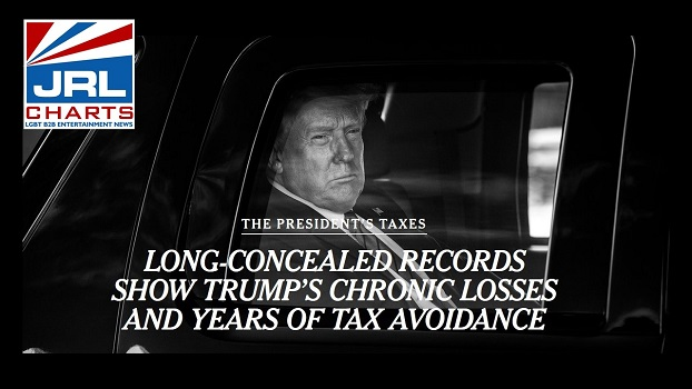 BOMBSHELL-Trump 's Tax Records reveal at Least 10 Yrs of Tax Avoidance