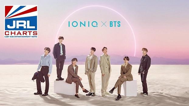 BTS teams with Hyundai on their - IONIQ I'm on it MV