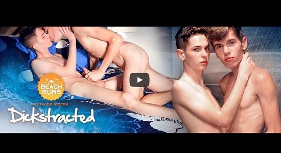 Beach Bums EP07-Dickstrated-gay-porn-trailer-Helix-Studios