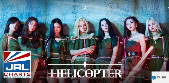 CLC-Helicopter-Sorn, Jang Ye-eun, Seungyeon, Elkie Chong, Kwon Eun-bin, Oh Seung Hee, Choi Yu-jin-Cube Entertainment