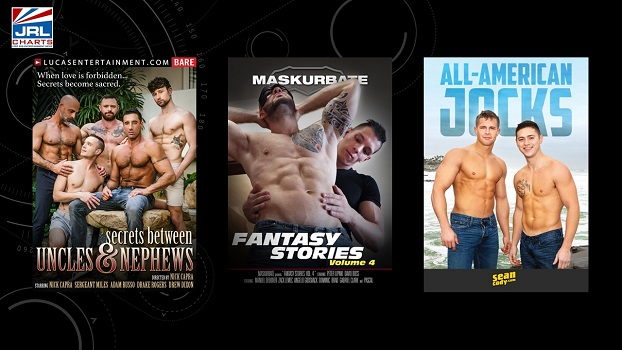 Gay Adult DVD and VOD New Releases – 09-14-2020