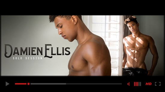 Helix Studios Presents Damien Ellis Solo Session-gay-porn-movie-trailer