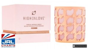 High On Love Cannabis-Enhanced Dry Body Oil, Massage Candle now at Entrenue